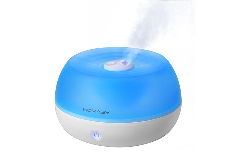 Homasy humidificateur ultrasonique 800ml brumisateur